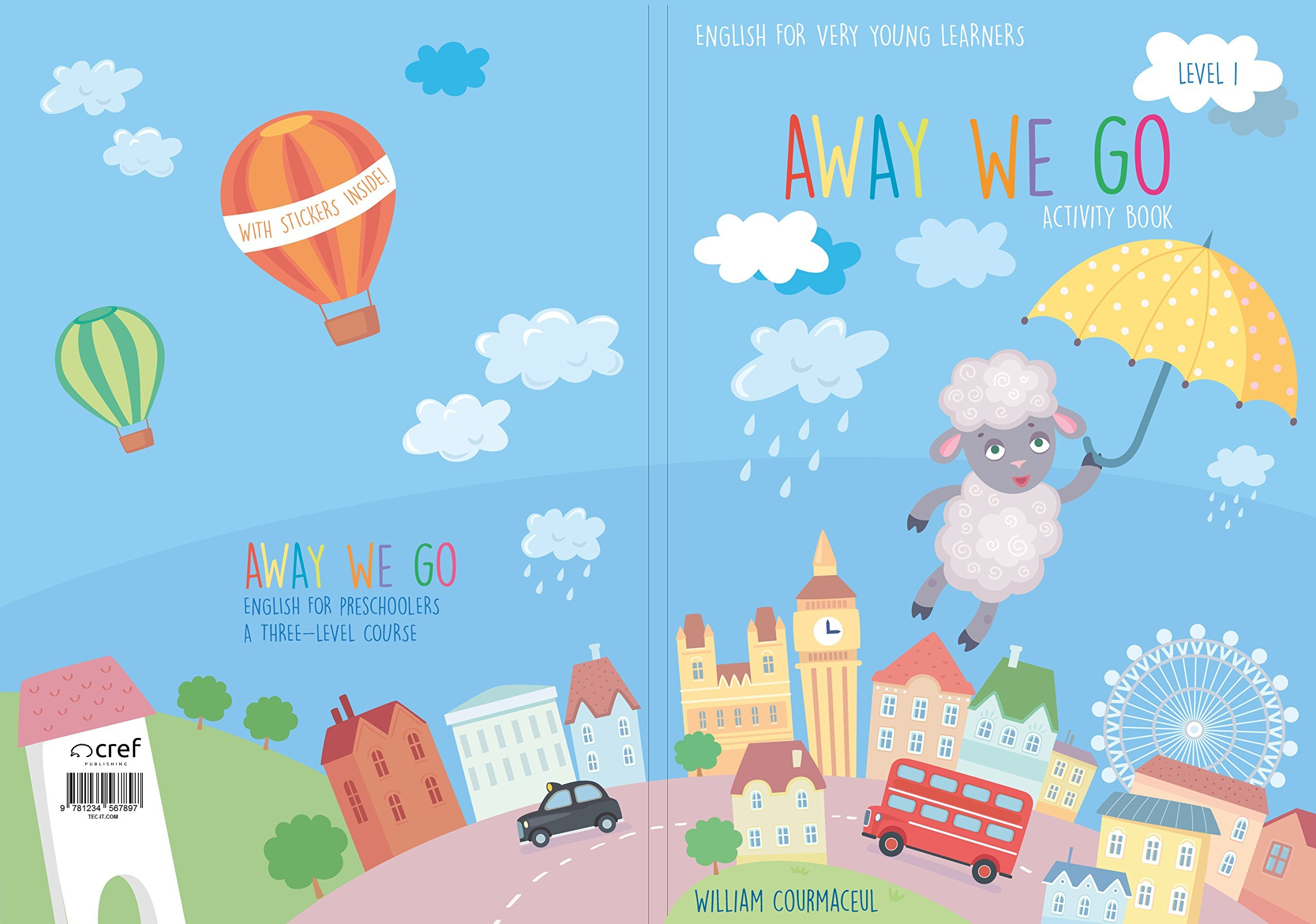 Away We Go - Activity Book - Level 1